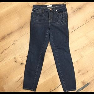 Madewell High Riser Skinny Jeans Size 30